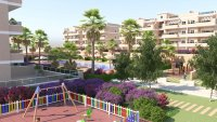 Stunning apartment with all white goods, communal pool, playground and gym (23)