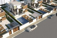 Detached 3 bed, 2 bath villas with a private pool, garden and a spacious solarium close to all amenities (14)