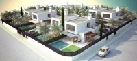 Walkable 400m to beach! Community of 8 independent villas with room for a private pool. (6)