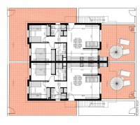 Luxury new complex of 2 bed and 2 bath apartments with 2 communal pools, SPA, JACUZZI and GYM (12)