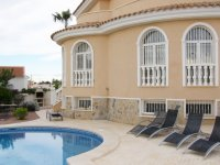 Superb detached part furnished villa with private pool and large games room (21)