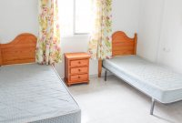 Well maintained ground floor apartment  with large communal pool, (9)