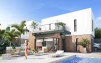 Modern linked villas with private pool at la Finca Golf resort (0)