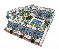 Modern town houses with communal pool and basement/garage option (24)