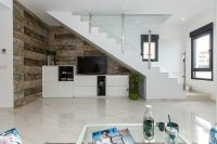 Modern town houses with communal pool and basement/garage option (13)