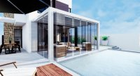 Stunning spacious villas with basement and private pool walkable to the beach (12)