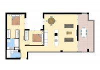 Modern apartments walkable to amenities. (16)