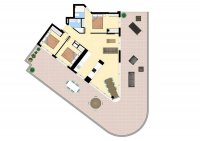 Modern apartments walkable to amenities. (15)