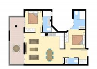 Modern apartments walkable to amenities. (17)