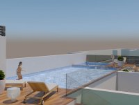 Modern properties 150m from the beach with roof top pool (0)