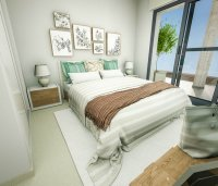 Modern apartments 150m from the beach with roof top pool (8)