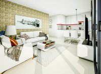 Modern apartments 150m from the beach with roof top pool (2)
