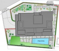 Apartment block with community gardens and pool close to golf course (4)