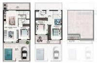Bright and airy townhouses located in San Pedro del Pinatar (7)