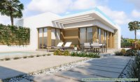 Semi-detached villas with optional private pool on Vistabella Golf