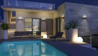 Semi-detached villas with private pool walkable to amenities. (14)