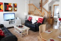 Delightful well presented 3 bed, west facing town house with communal pool (7)