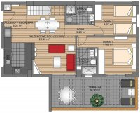Green Hills Luxury Apartments with Spa and Gym (15)