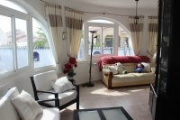 Traditional 3 bed, 2 bath detached villa with garage, private pool, and large private gardens (2)