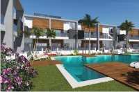 Stylish townhouses with communal pool in El Raso (2)