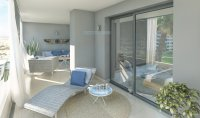 Beach frontline apartments with spectacular sea views. (10)
