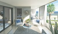 Beach frontline apartments with spectacular sea views. (11)