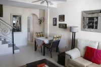 Lovely west facing townhouse, overlooking pool with private parking (6)
