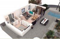 Stunning independent villas with private pool and optional solarium and basement (20)