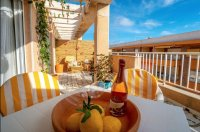 2 bed 2 bath penthouse apartment on gated community only 150 meters from beach (1)