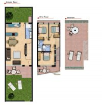 Stunning new design townhouses overlooking the communal pool (12)