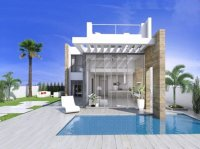 Contemporary design villas with private pool and sea view (1)