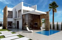 Contemporary design villas with private pool and sea view (0)
