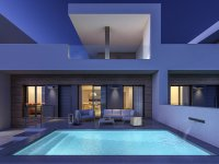 Stylish contemporary villas with pool and white goods included (1)