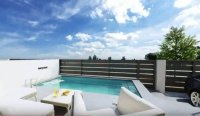 Stylish contemporary villas with pool and white goods included (7)