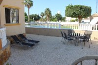Lovely detached 3 bed, 2 bath villa in El Raso overlooking the pool (16)