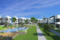 Modern middle floor apartments with communal pool on a lovely gated community (1)