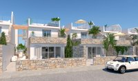 Modern spacious villas with white goods, private pool walkable to the beach (7)