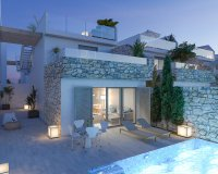 Modern spacious villas with white goods, private pool walkable to the beach (8)