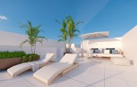 Modern spacious villas with white goods, private pool walkable to the beach (1)