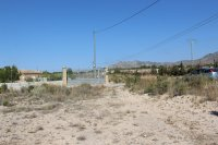 Land for sale, good location including large trailer, building permission pending. (1)