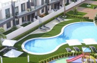 Modern design apartments with communal pool walkable to the beach (6)