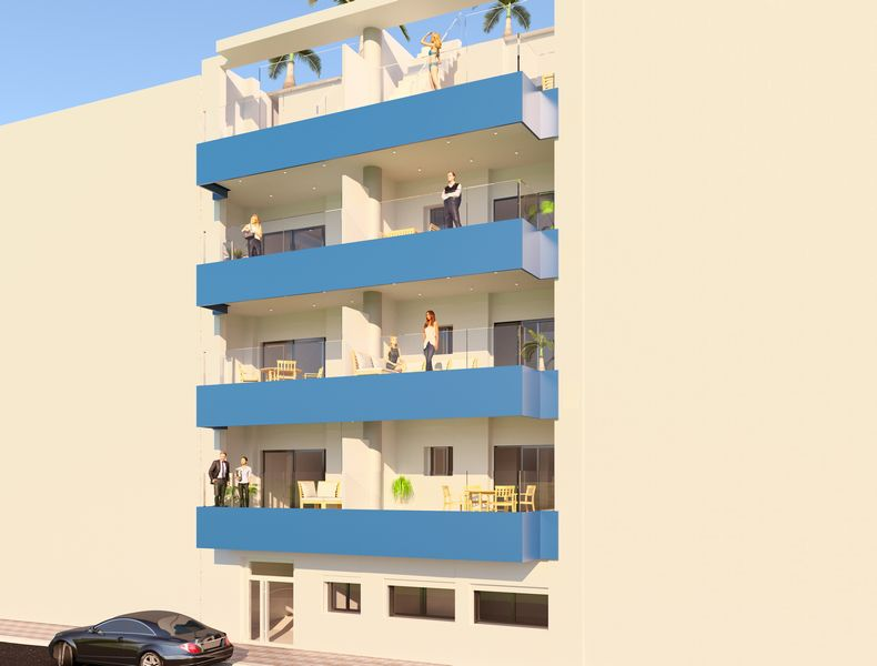 Ref:9110 Apartment For Sale in Torrevieja