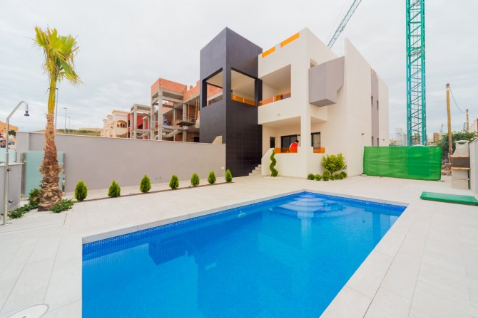 New Build, Key in Hand, Bungalow in Los Altos, Torrevieja