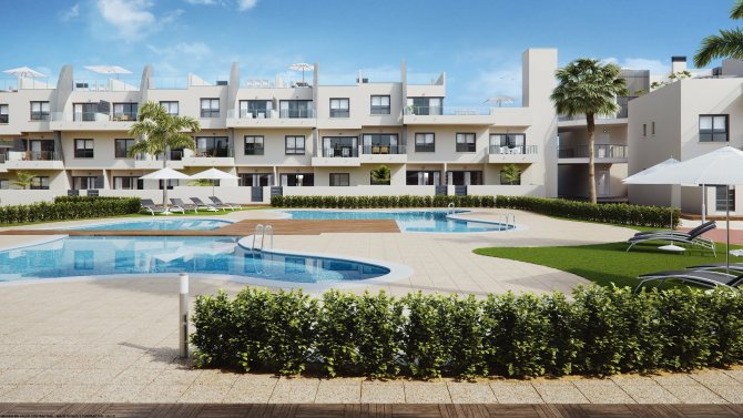 Apartment, New Build in Mil Palmeras, Orihuela Costa