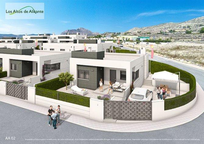 New build houses Los Altos de Busot