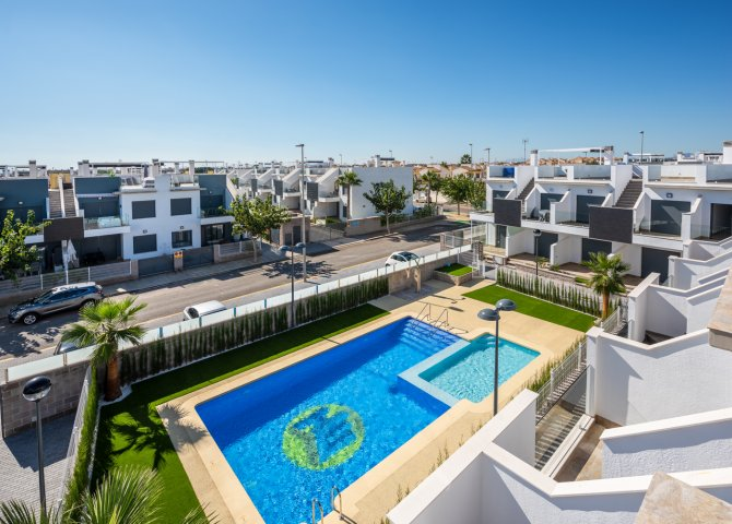 New build apartments in Pilar de la Horadada