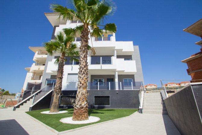 New build apartments in Orihuela Costa