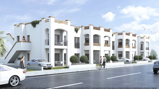 New build apartments in Lorca