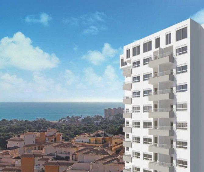 NEW BUILD APARTMENT 2 BED, 2 BATH, CAMPOAMOR - ORIHUELA COSTA