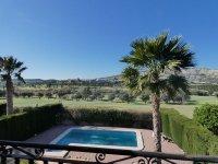 Front line villa on La Finca
